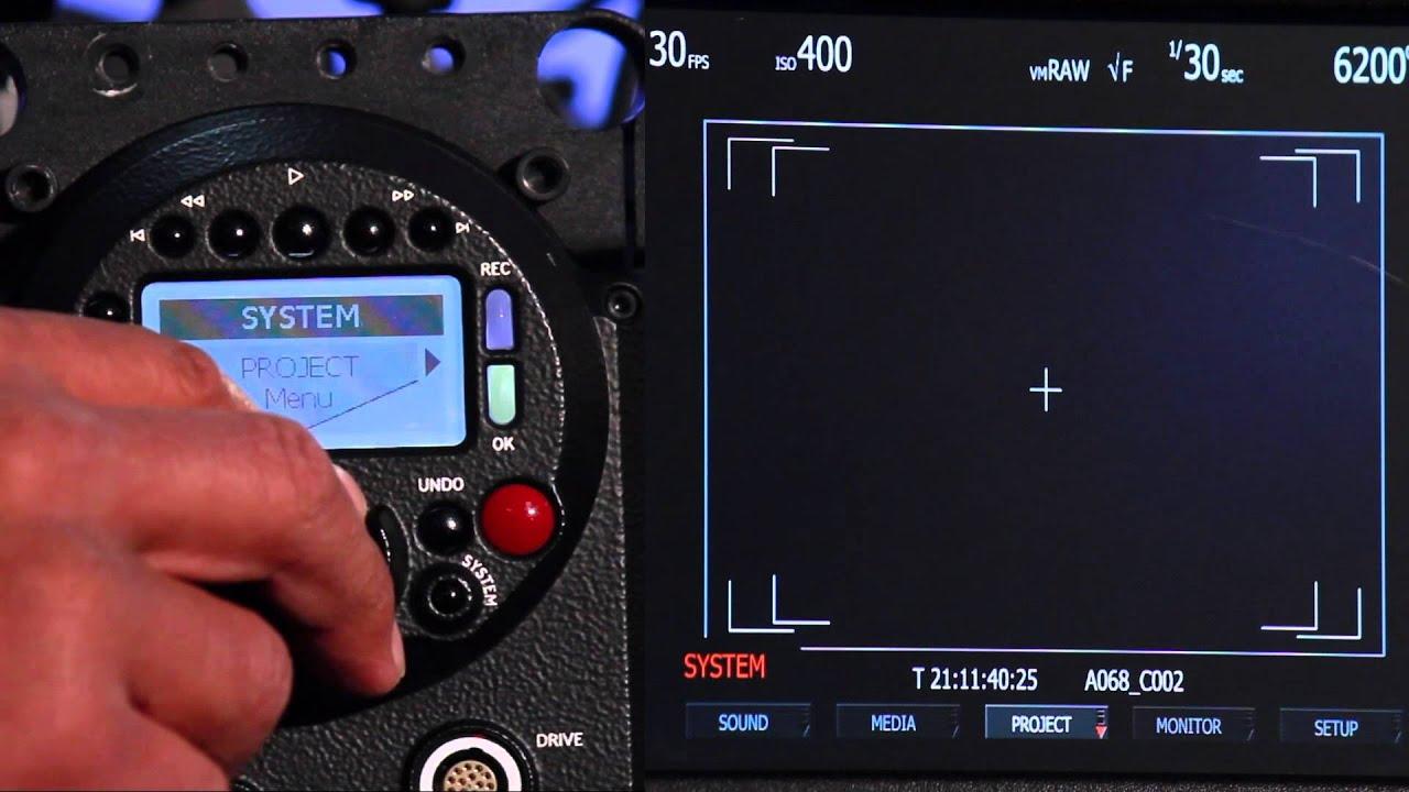 RED ONE Camera Tutorial II - YouTube