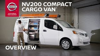 Nissan NV200 Compact Cargo Van Overview