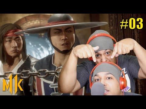 LIU KANG AND KUNG LAO BOUT TO DROP THAT MIXTAPE! [MK11] [#03]