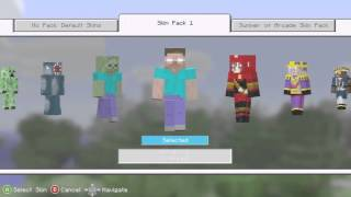 How to get Free MInecraft Skins for Xbox 360