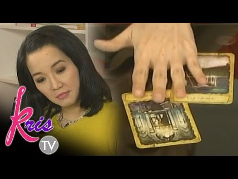 What tarot cards say about Kris' love life?