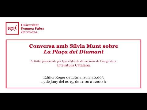 """Conversa amb Sílvia Munt sobre """"La plaça del Diamant"""" de Mercè Rodoreda"""