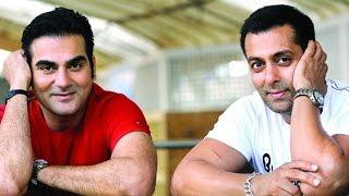 Race for success between brothers Arbaaz Khan and Salman Khan