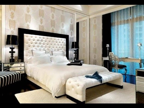 Luxurious Bedroom Designs With Tufted Headboards - YouTube