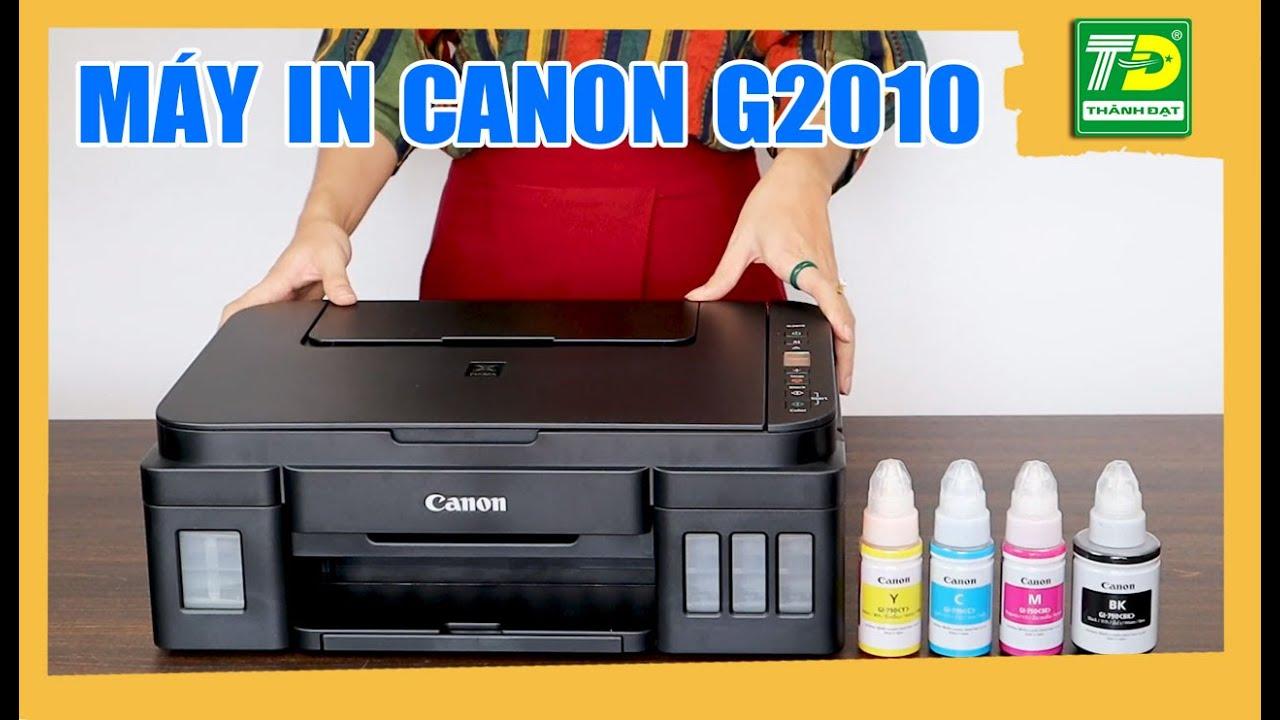 ✅Đánh Giá Máy In Canon G2010 - Máy In Đa Chức Năng Pixma Canon G2010