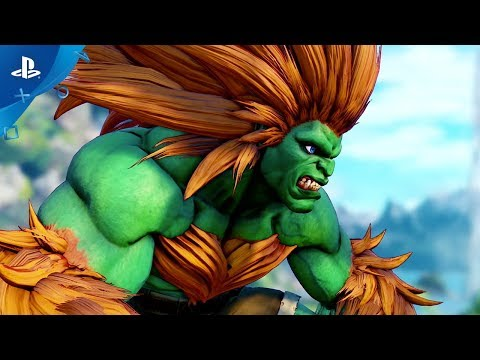 Street Fighter V: Arcade Edition – Blanka Gameplay Trailer   PS4