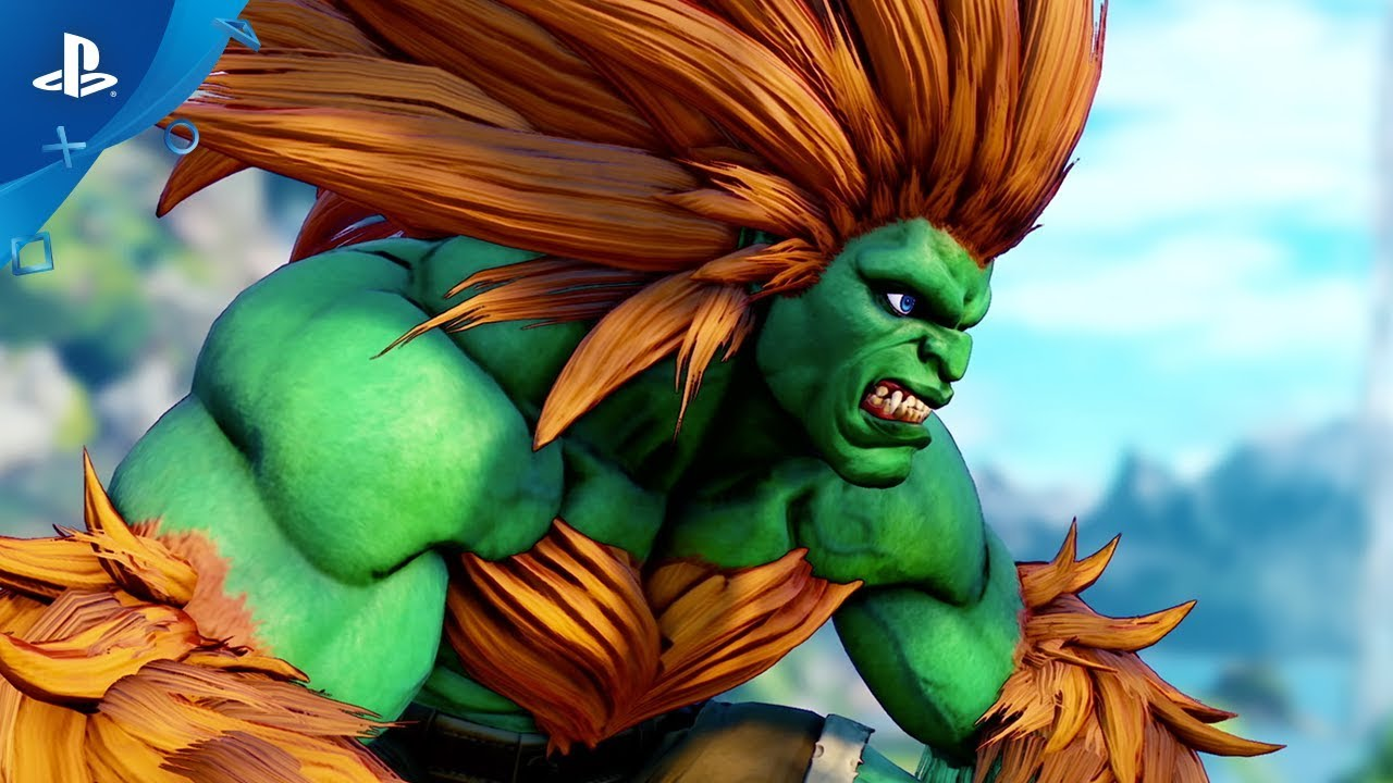 Street Fighter V Arcade Edition Blanka Gameplay Trailer Ps4 Youtube