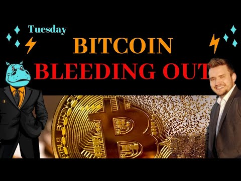 Bitcoin Bleeding Out - How To Find A Bottom