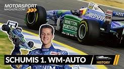 Benettons Formel 1 Wunderwaffe: Schumis erstes WM-Auto!