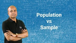 Population Vs Sample Statistics | Population Mean Vs Sample Mean | Statistics Tutorial 2018