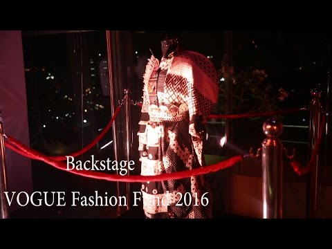 VOGUE India Fashion Fund 2016, backstage makeup using ciate london products, VIFF.