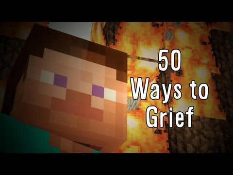 50 Ways to Grief Minecraft Parody of 50 Ways to Say Goode Train