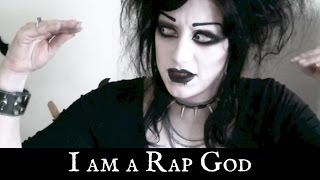 One of It's Black Friday's most viewed videos: Goth Girl Raps Eminem's Rap God | Black Friday