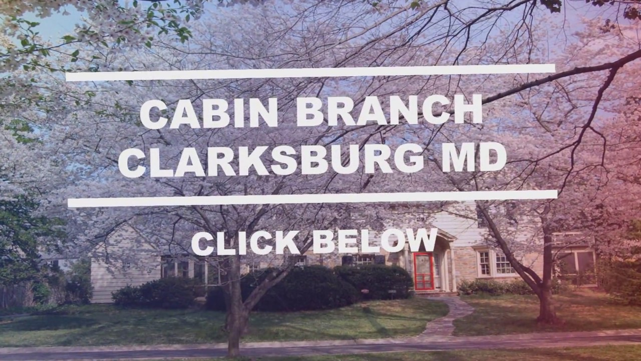 Great Cabin Branch Clarksburg MD | Moving Up To A Luxury Home? Nowu0027s The Time!