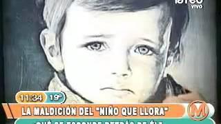 """Mañaneros: la Maldición del cuadro """"El Niño que Llora"""" Parte1-2"""