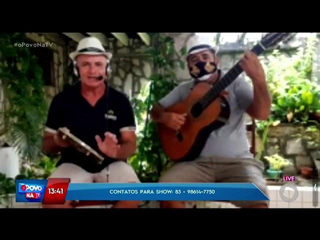 Os Chorões do Luar do Sertão no Povo na TV com Erly Fernandes - O Povo na TV