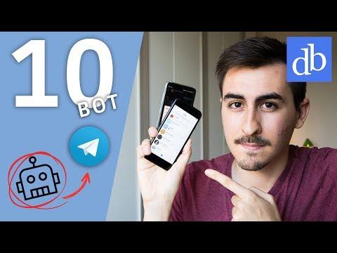 I 10 BOT TELEGRAM PIÙ UTILI DA AVERE! Migliori Bot Telegram • Ridble