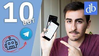 9 BOT Telegram UTILI che Dovresti Provare! (2018)