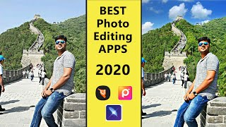 மரண மாஸ் | Top 5 Best Photo Editing Android Apps 2020 - Must Try !!!