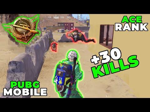 SOLKAY +30 KILL ACE RANK !! | PUBG MOBILE MIRAMAR GAMEPLAY