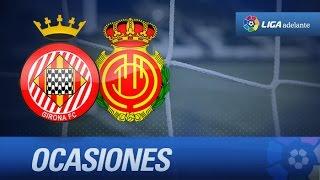 Todas las ocasiones de Girona FC (0-0) RCD Mallorca