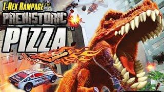 Hot Wheels: T-Rex Rampage Takedown Dinosaur / PREHISTORIC PIZZA