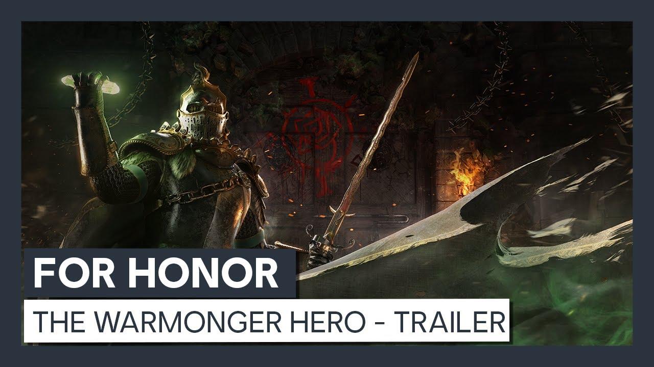 For Honor: The Warmonger Hero -  Trailer
