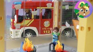 Playmobil Filmes Português | BRINCADEIRA DE MAU GOSTO | Bombeiro