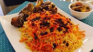 Kabuli pulao, traditional afghan rice, afghani rice recipe, afghan carrot rice,