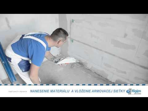 Tenkovrstvová Omietka Na Pórobetón - Rimano GletXL