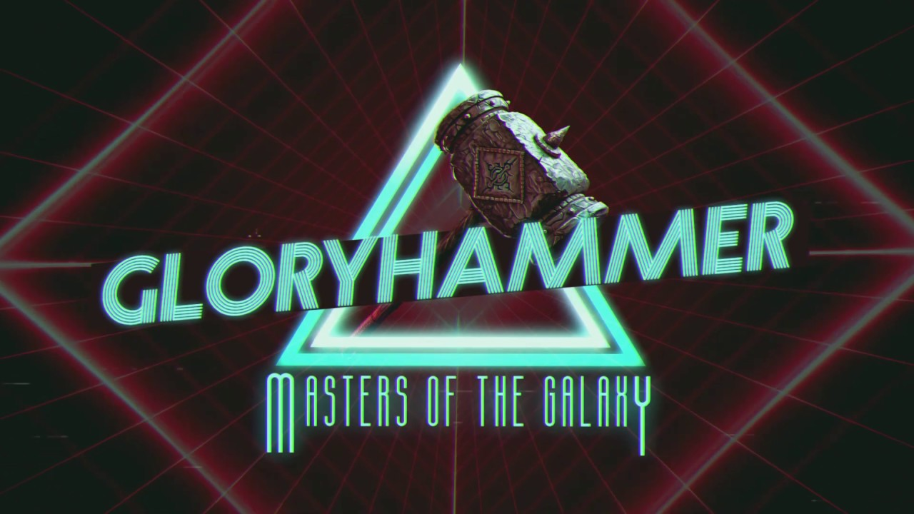 GLORYHAMMER — Masters of The Galaxy (Official Lyric Video) | Napalm Records