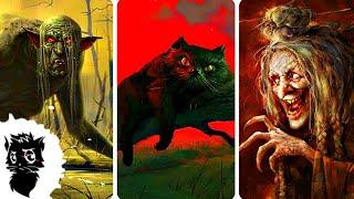 4 САМЫХ УЖАСНЫХ МОНСТРА СЛАВЯНСКОЙ МИФОЛОГИИ [Черный кот]