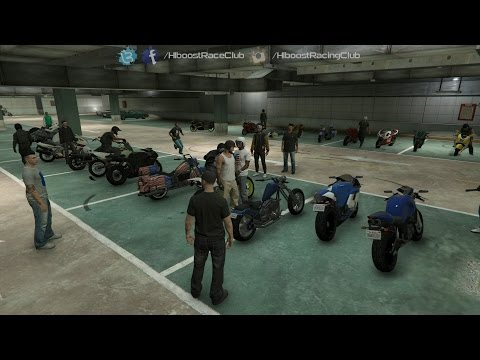 Grand Theft Auto V Online (PS4) | Street Bike Meet | Ruffian, Highway Racing, Airstrip Drags & More