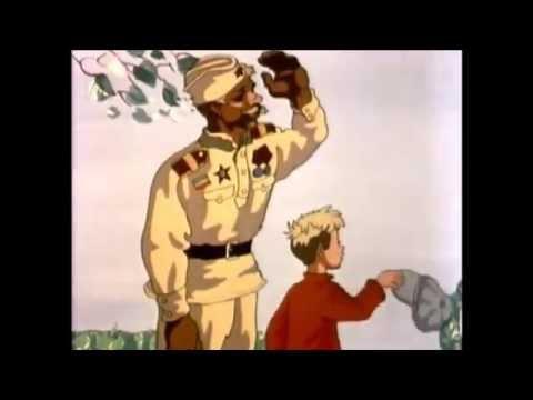 Буктрейлер по сказке К.Паустовского Похождения Жука-носорога