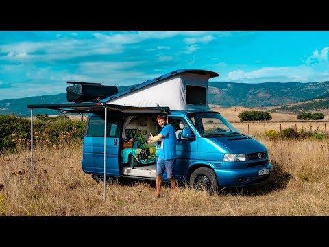 Van Tour VW T4 Transporter - Lithuanian Kitesurf Instructor In Tarifa!