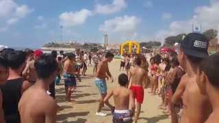 ᴴᴰ beach party israel | מסיבת ים חוף חדרה ישראל