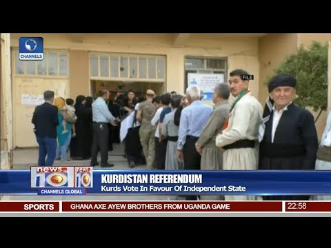 Kurds Vote In Favour Of Independent State Pt.4 |News@10| 27/09/17