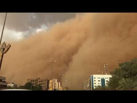 Haboob in Sudan
