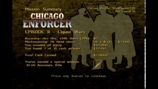 Chicago Enforcer (Xbox) - Chapter 4