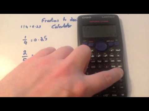 Fractions To Decimals Calculator Corbettmaths Youtube