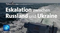 Zwischenfall verschärft Russland-Ukraine-Konflikt