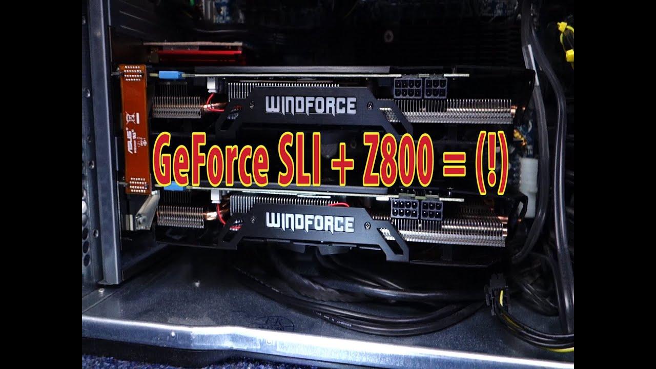 SLI GTX GPU FAIL??? - HP Z800 Workstation