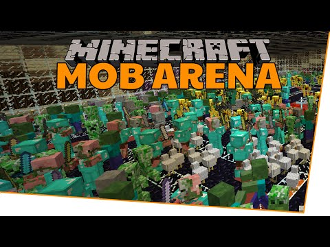 Eskalation PUR! - Minecraft Mobarena mit Clym, Schlappohrpanda & Logi   Earliboy
