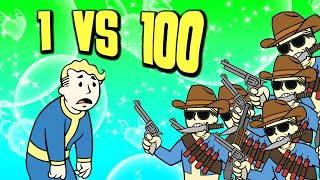 1 VS 100 RAIDERS - Fallout 4 - | 6 | - (Difficulty: Very Hard)