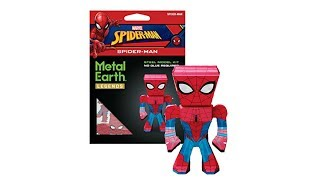 """Spiderman"" - Metal Earth LEGENDS | Fascination"