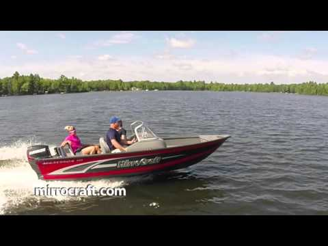 2016 MirroCraft Boat Commercial