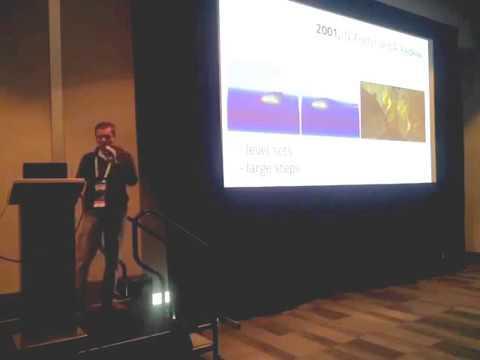 Real-time Fluid Dynamics Talk at GTC NVScene 2014