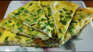 Fried Eggs With Green onions (葱油蛋)