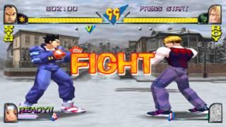 Rival Schools [Arcade Disc]: Taiyo High Playthrough (Hinata/Batsu/Kyosuke) [Playstation, 1998]