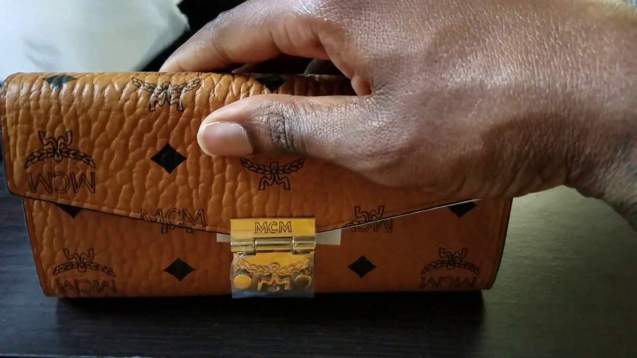 *Unboxing* MCM Patricia Visetos Two Fold Wallet on Chain